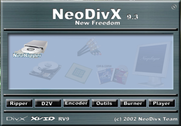 neodivx 9.3 windows 7